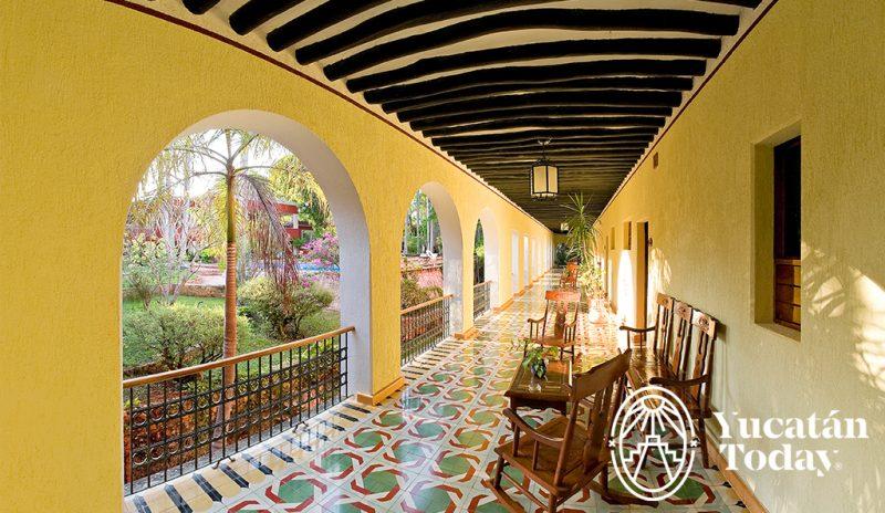 Hacienda Uxmal corredores