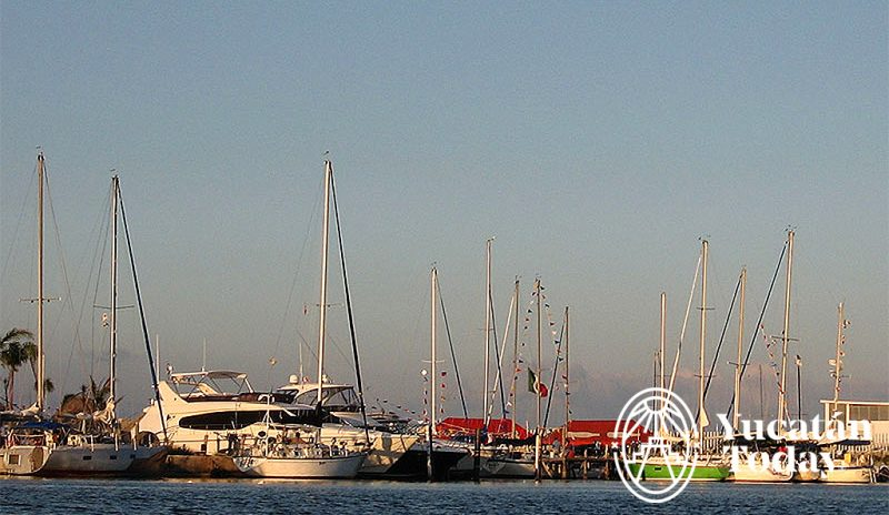 Progreso Marina Lakes Sunset