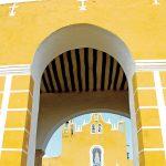 Izamal entrada convento