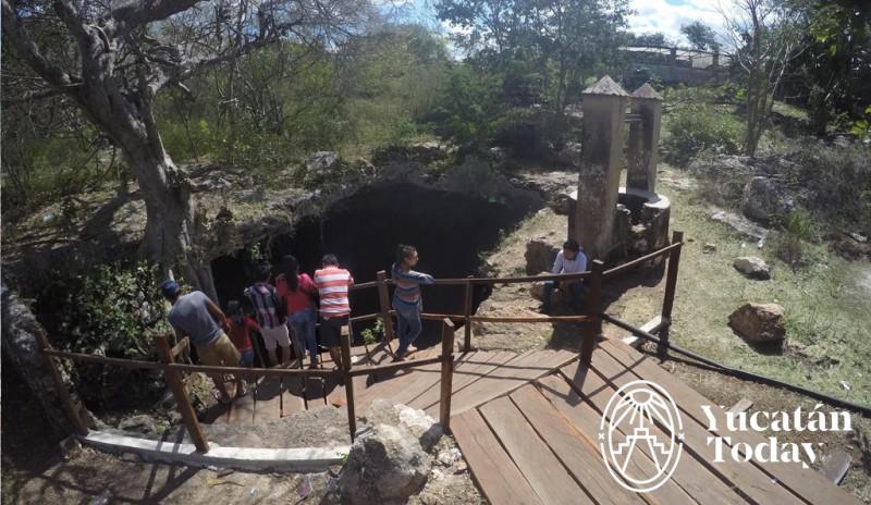 Cenote Xpakay entrada