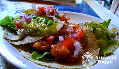 El Cangrejito tacos