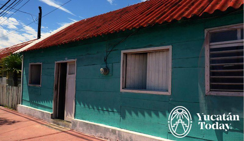 San Felipe casa azul