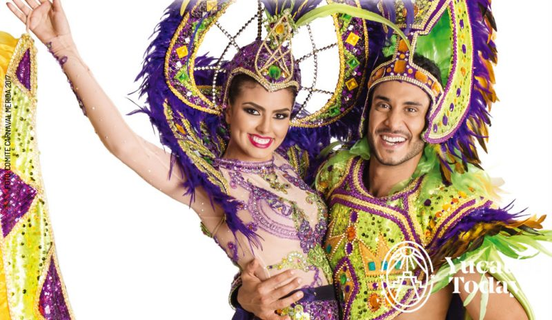 Carnaval Mérida 2017 @ Xmatkuil, Yucatán