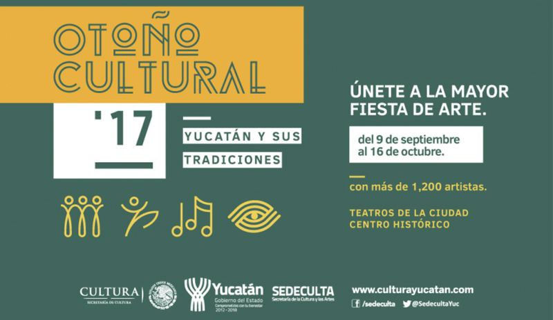 Otoño Cultural 2017 @ Mérida, Yucatán | Mérida | Yucatán | México