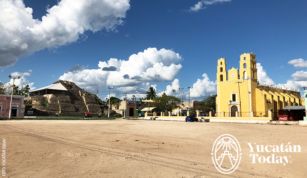 Acanceh, Encuentro de Tres Culturas